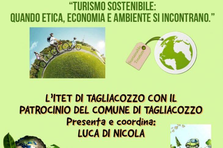 Locandina tavola rotonda Turismo Sostenibile 8 giugno 2021