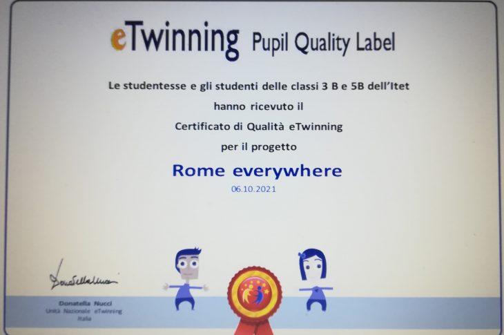 Certificato  3B  5B